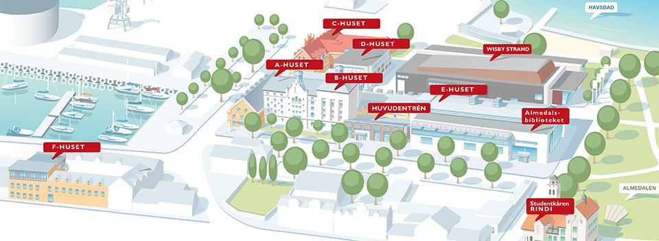 Hitta Till Campus Gotland Campus Gotland Uppsala Universitet